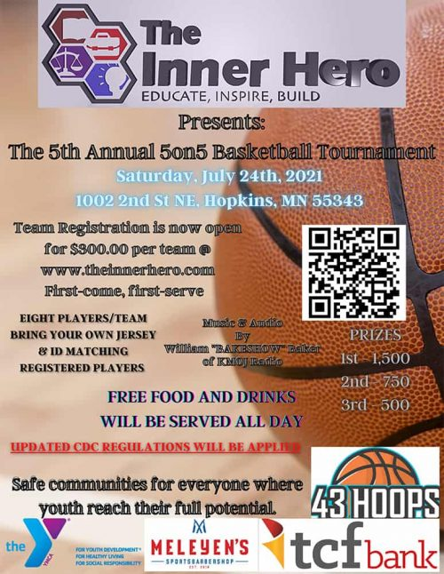 Copy of The 5th Annual 5on5 Basketball Tournament
